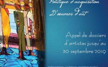 lim. 30 sept. – Acquisition d'œuvres d'art par la Ville de Mont-Laurier