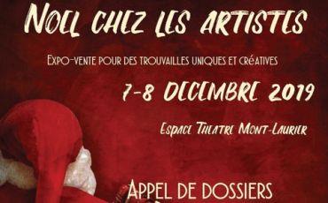 Lim. 7 oct. / NOËL CHEZ LES ARTISTES / Mont-Laurier
