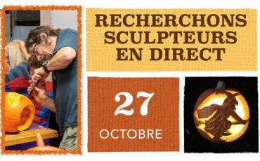 Sculpteurs en direct recherchés / Maison des arts Saint-Faustin