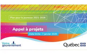 Plan pour la jeunesse 2021-2026 : Appel à projets