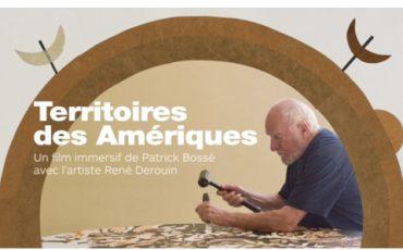 Film immersif du réalisateur Patrick Bossé et du producteur Pascal Pelletier sur l'œuvre de René Derouin | Sociofinancement!
