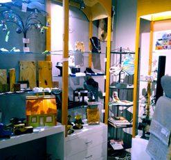 Boutique de métiers d'art à la Maison des arts de Saint-Faustin