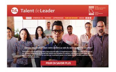 Le programme Le talent de leader pour soutenir les gestionnaires de la culture / Limite 14 février