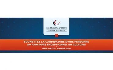 Le prix Denise-Pelletier / Soumettez une candidature / Limite 16 mars