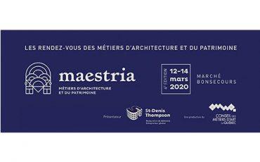 Maestria : Rendez-vous d'architecture et du patrimoine