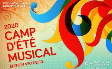 Le Camp d'été musical, édition virtuelle