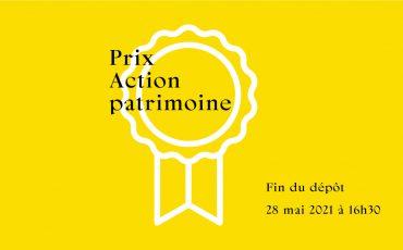 Appel de candidatures/Prix Action patrimoine 2021