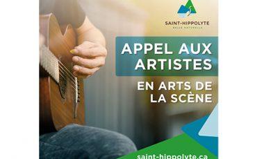 Appel aux artistes en arts de la scène/Limite 26 février