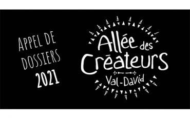 Allée des créateurs de Val-David/Appel de dossiers/Limite 23 avril