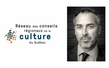 Éric Lord à la direction généraledu Réseau des conseils régionaux de la culture du Québec