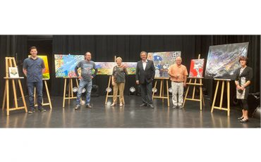 Dévoilement des œuvres d'art acquises dans le cadre de la  Politique d'acquisition d'œuvres d'art de la Ville de Saint-Eustache